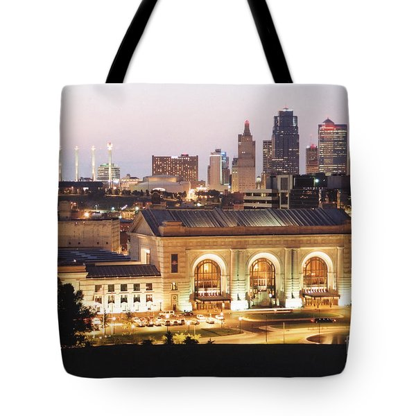 Union Station Evening Tote Bag