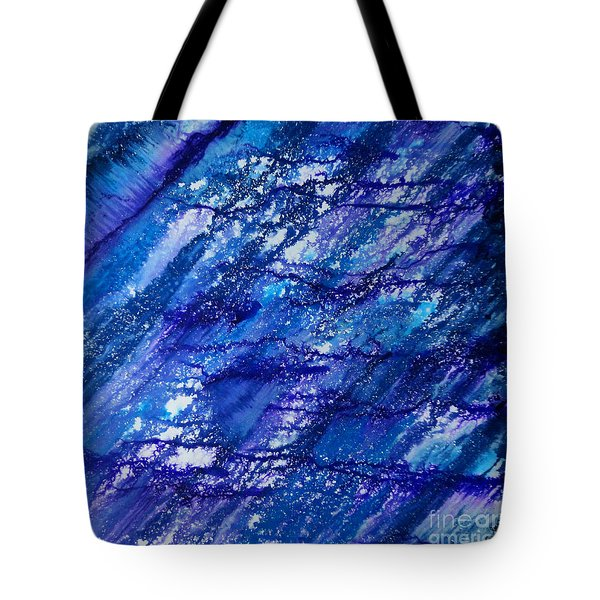Winter Of Duars Tote Bag