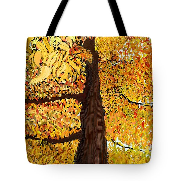 Up Tree Tote Bag