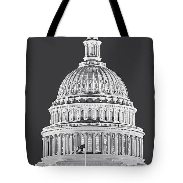 Us Capitol Dome Tote Bag by Susan Candelario