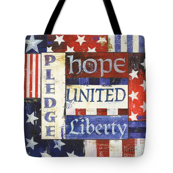 Usa Pride 1 Tote Bag by Debbie DeWitt