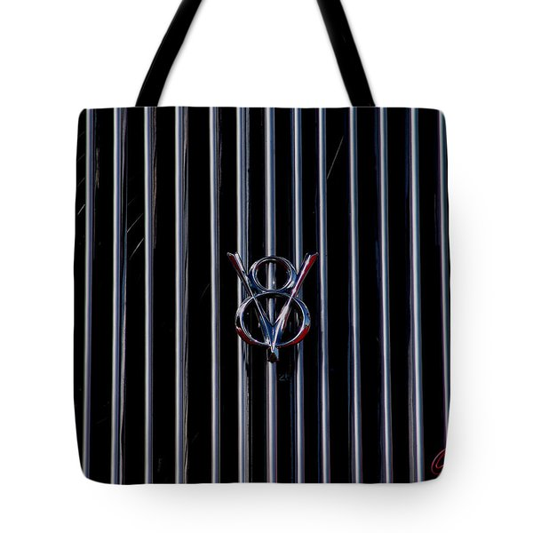 V8 Grill Tote Bag by Chris Thomas