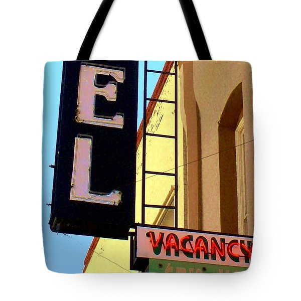 Vacancy Tote Bag