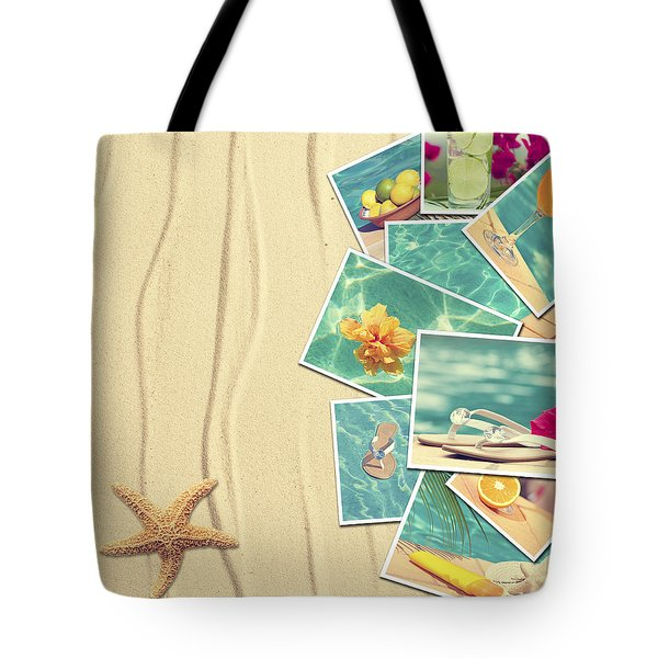 Vacation Postcards Tote Bag