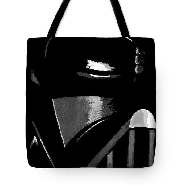 Tote Bag featuring the painting Vader by Dale Loos Jr
