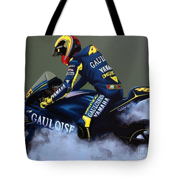 Valentino Rossi Tote Bag