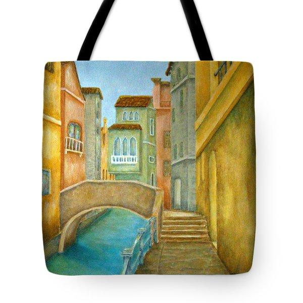 Venezia Tote Bag by Pamela Allegretto