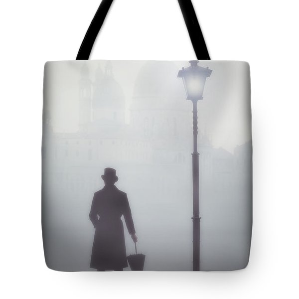 Victorian Man Tote Bag