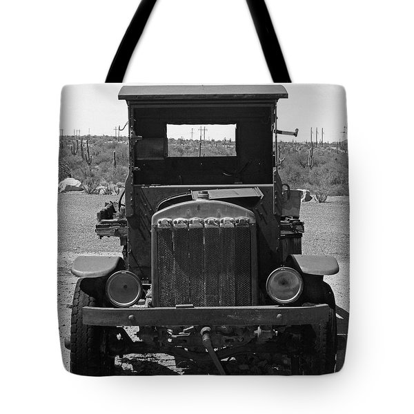 Vintage Stare Down Tote Bag