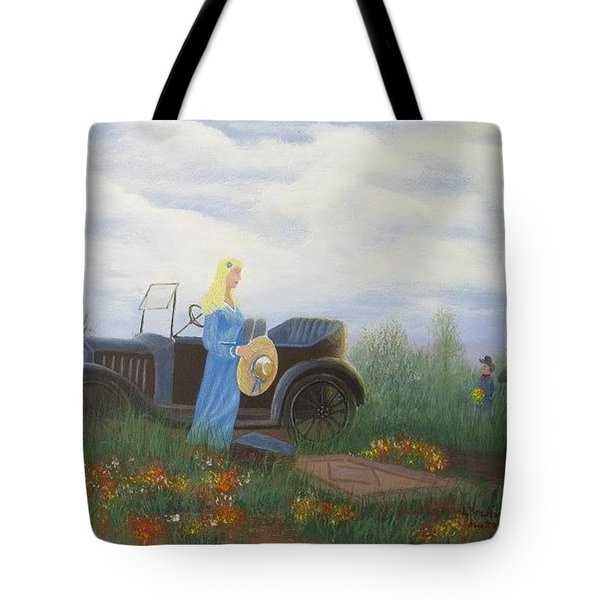 Waiting For A Picnic Tote Bag