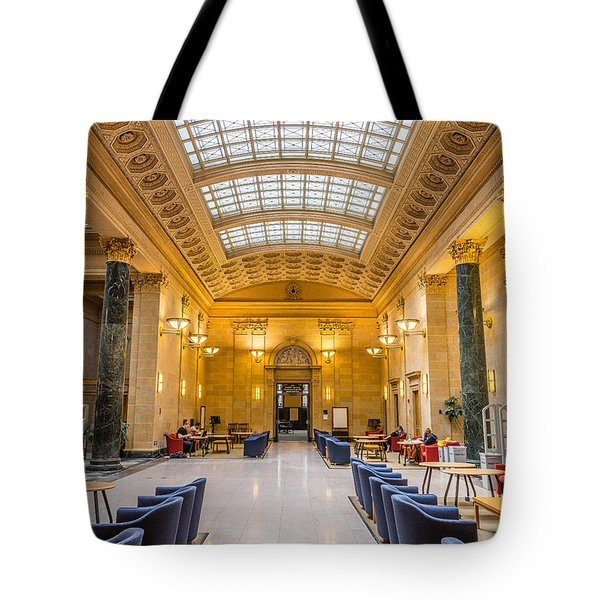 Walter Library Tote Bag by Le Phuoc