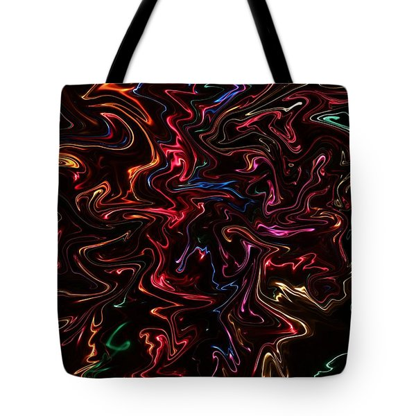 Warp It Up Tote Bag by Bill Kesler