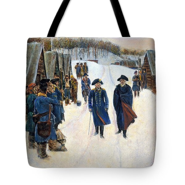 Washington: Valley Forge Tote Bag by Granger
