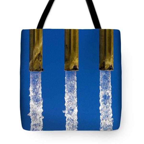 Water Tote Bag by Fabrizio Troiani