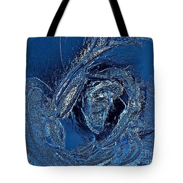 Water Rose Tote Bag by Nina Ficur Feenan