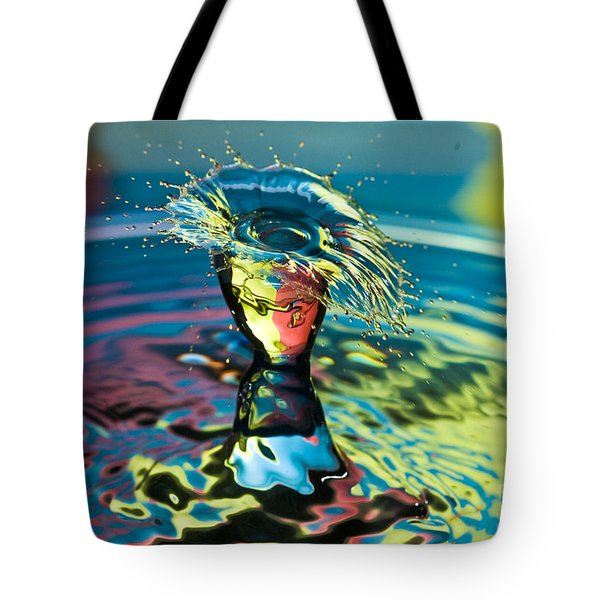 Water Splash Having A Bad Hair Day Tote Bag
