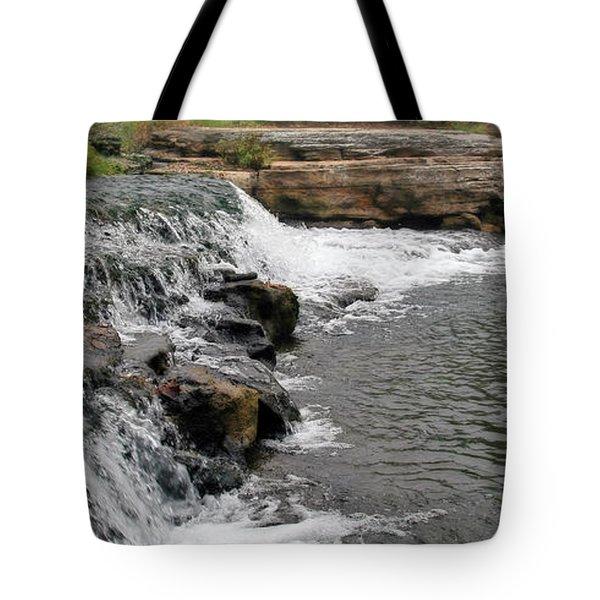 Spring Creek Waterfall Tote Bag