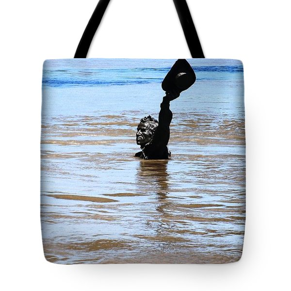Tote Bag featuring the photograph Waters Up by Kelly Awad