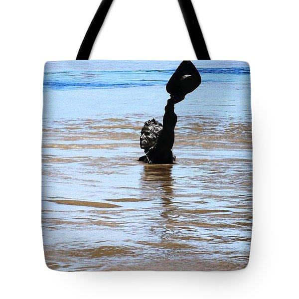 Waters Up Tote Bag
