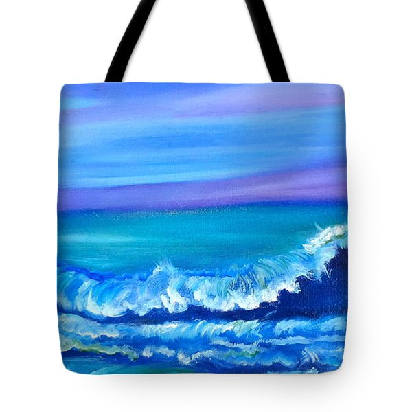 Wave Tote Bag by Jenny Lee