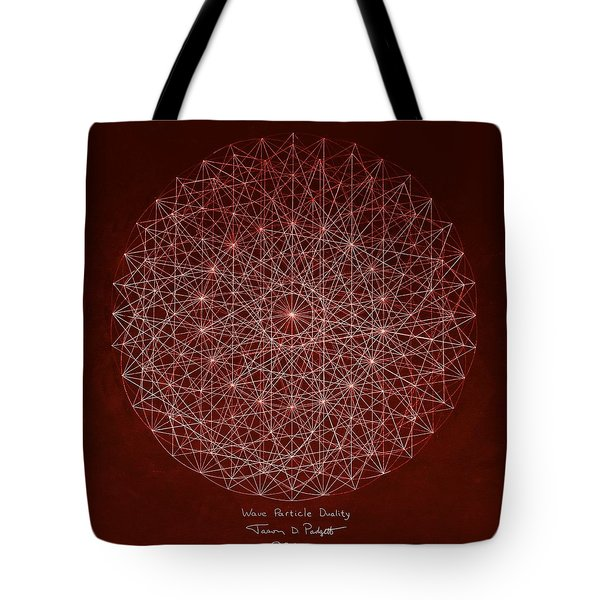 Wave Particle Duality Tote Bag