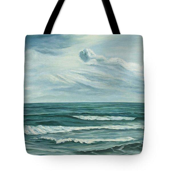 Waving Sea Tote Bag