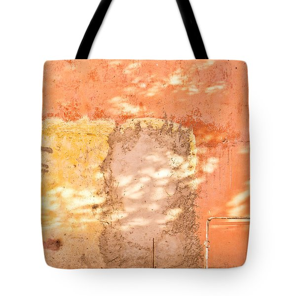 Weathered Wall Tote Bag by Tom Gowanlock