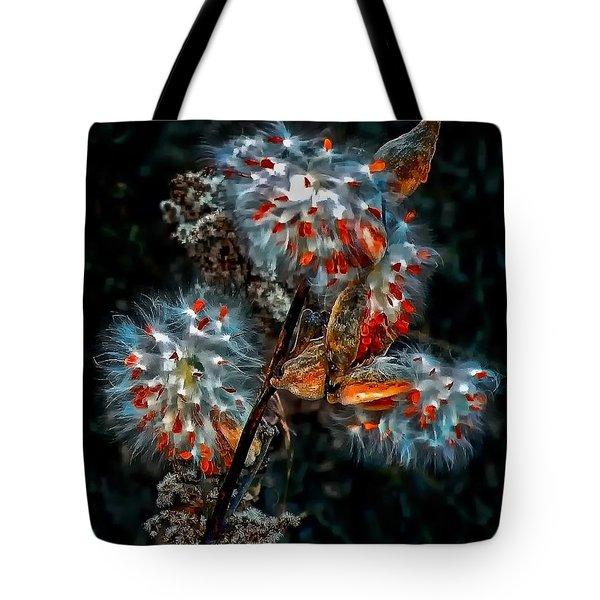 Weed Galaxy  Tote Bag by Steve Harrington