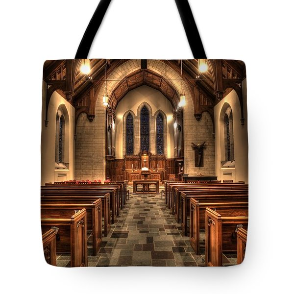 Westminster Presbyterian Church Tote Bag by Amanda Stadther