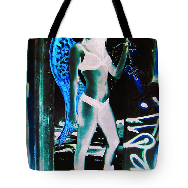When Heaven And Earth Collide 2 Tote Bag
