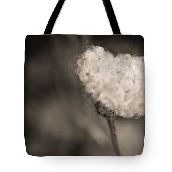 Tote Bag featuring the photograph White Whisper by Sara Frank