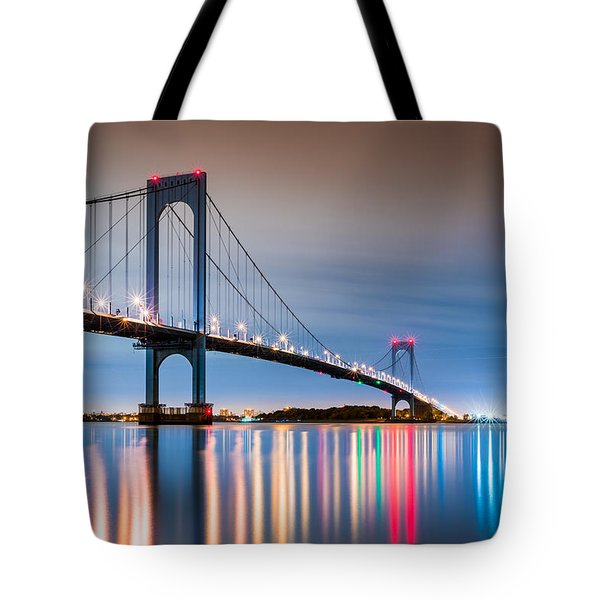 Whitestone Bridge Tote Bag