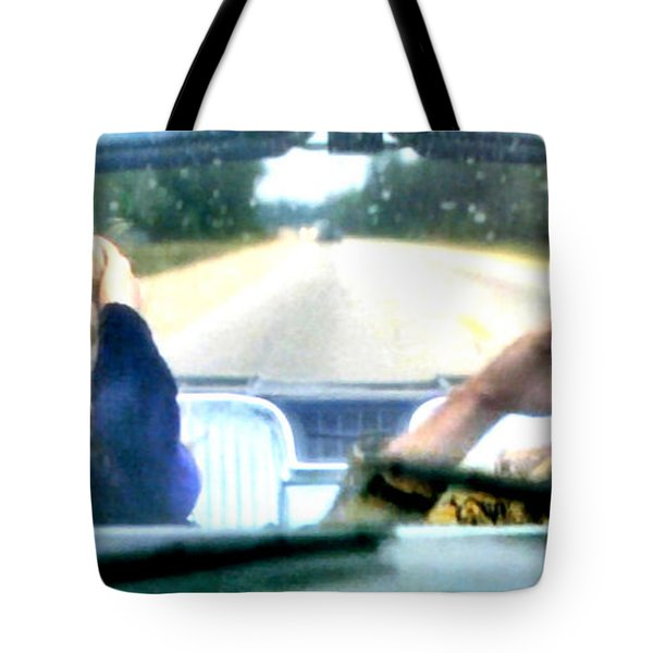 Wild At Heart Tote Bag by Luis Ludzska