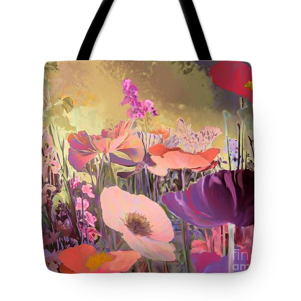 Wild Garden Tote Bag by Ursula Freer