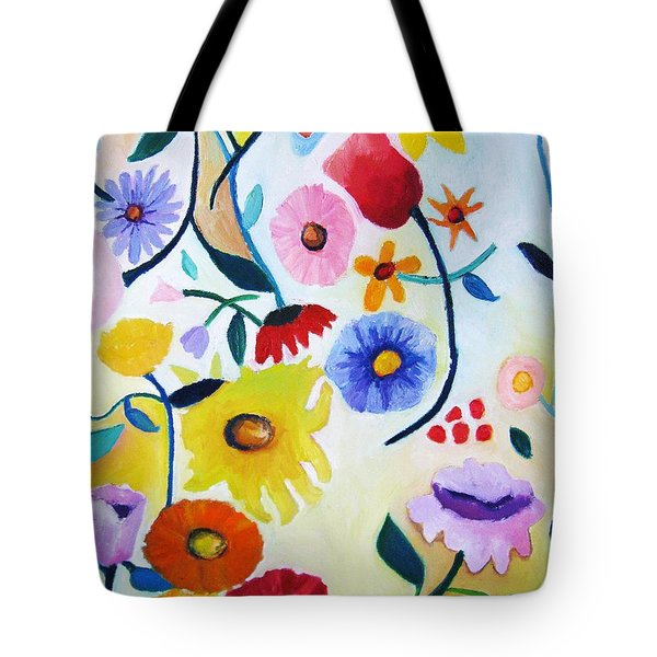 Wildflowers Tote Bag by Venus