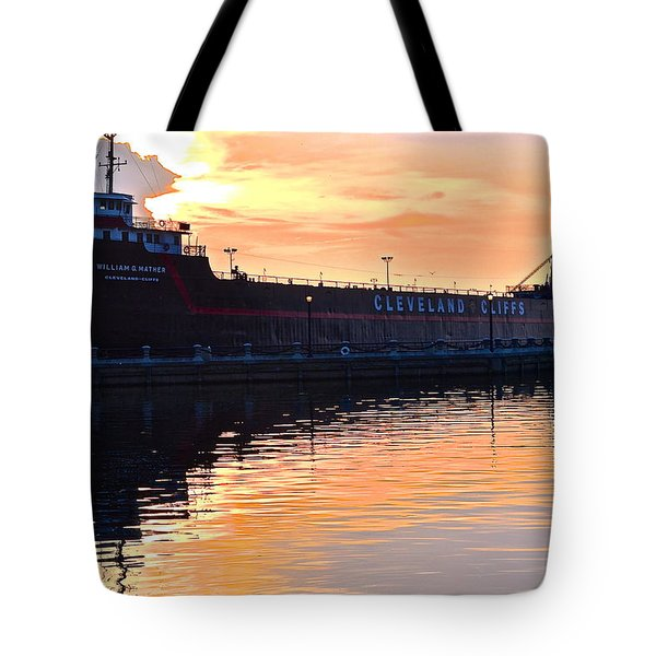 William G Mather Tote Bag by Frozen in Time Fine Art Photography