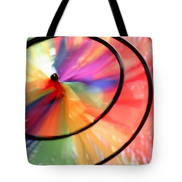 Tote Bag featuring the photograph Wind Wheel by Henrik Lehnerer