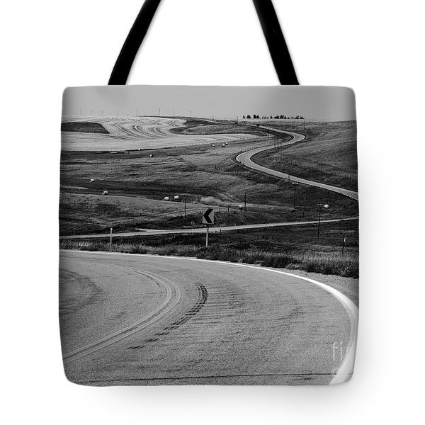 Winding Road Tote Bag by Sue Smith