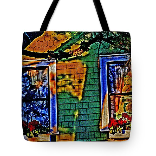 2 Windows 1 Heart Tote Bag