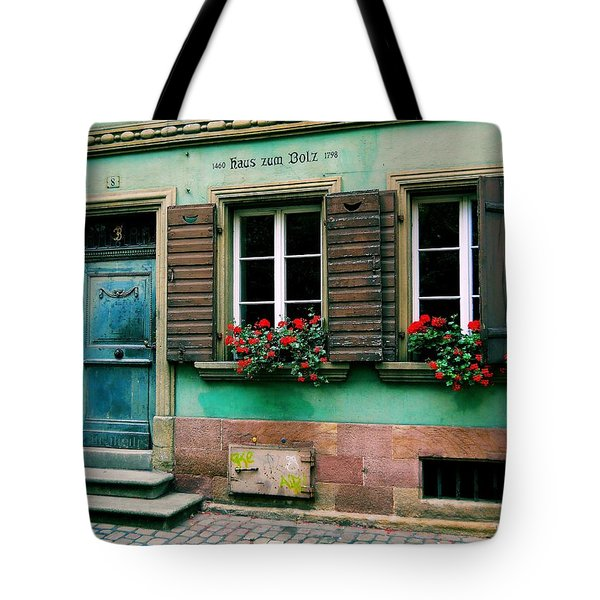 Tote Bag featuring the photograph Windows And Doors 6 by Maria Huntley
