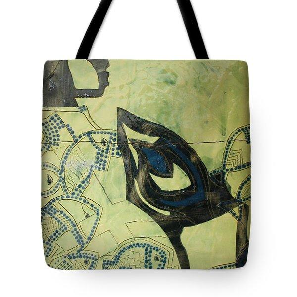 Wise Virgin Tote Bag by Gloria Ssali