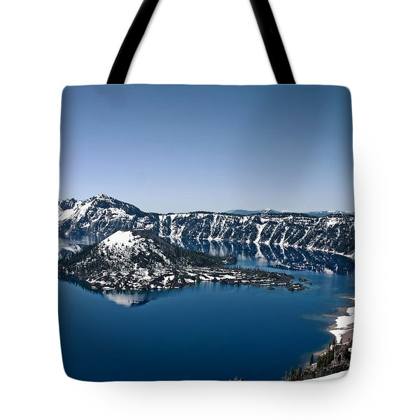 Wizard Island  Tote Bag by Betty Depee