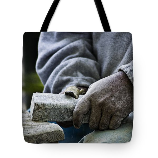Working Hands Tote Bag