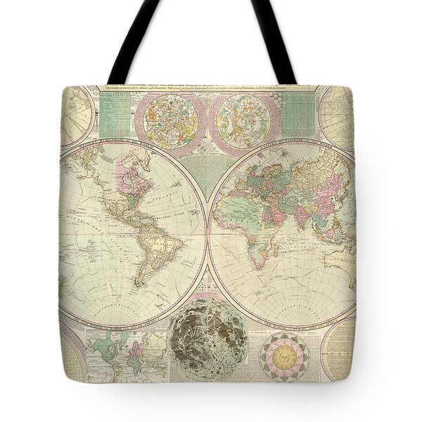 World Map Tote Bag by Gary Grayson