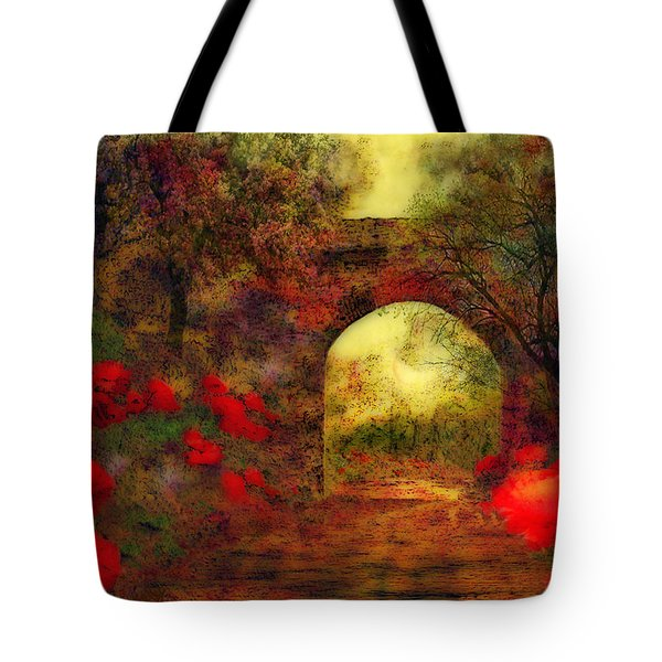 Ye Olde Railway Bridge Tote Bag