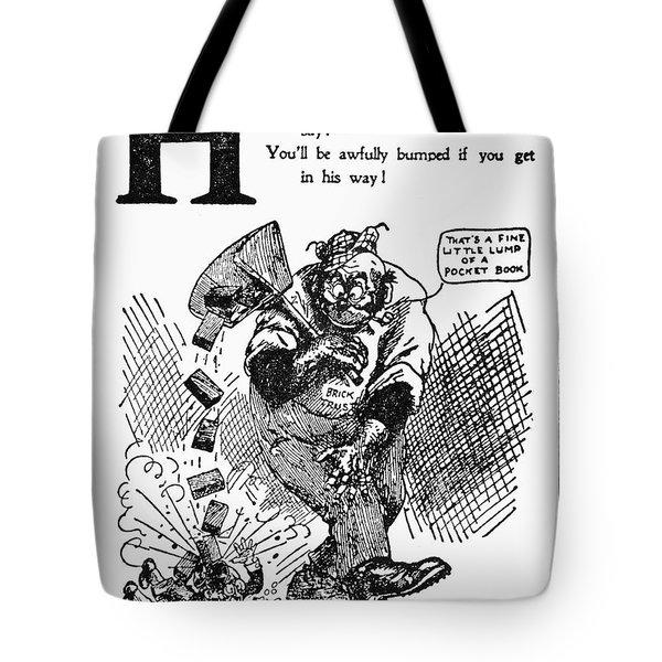 Anti-trust Cartoon, 1902 Tote Bag