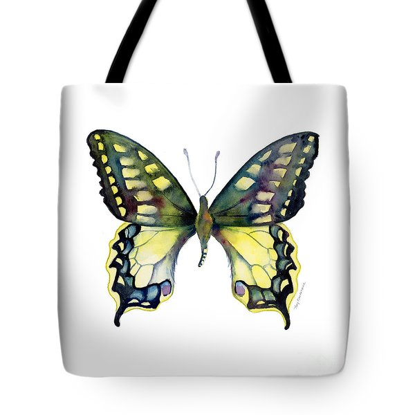 20 Old World Swallowtail Butterfly Tote Bag