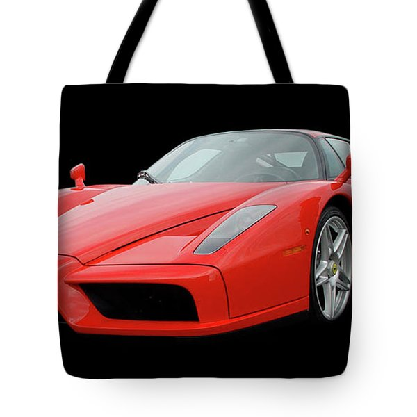 2002 Enzo Ferrari 400 Tote Bag by Jack Pumphrey