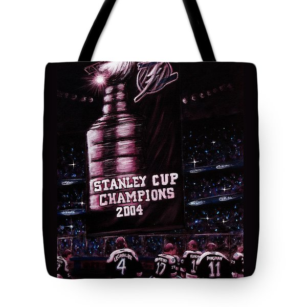 2004 Champs Tote Bag by Marlon Huynh