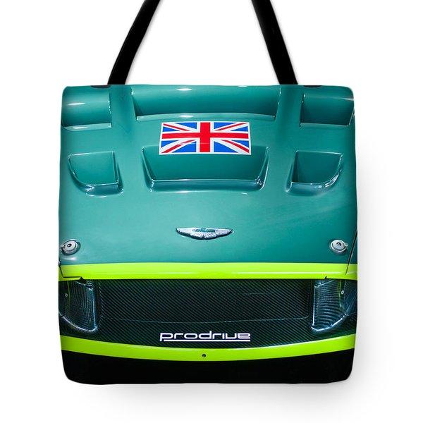 2005 Aston Martin Dbr9 Tote Bag